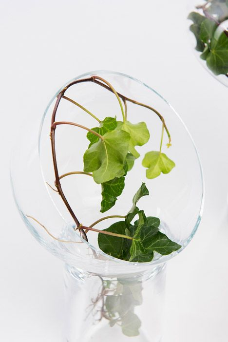 Liv vases by Kristine Five Melvær for Magnor Glassverk