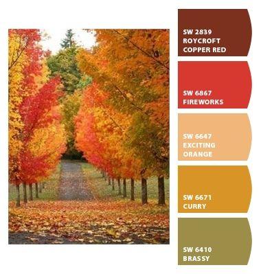Burnt Orange And Green Kitchen 133 best i love color palettes images on pinterest | color