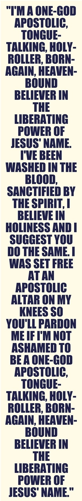 Proud to be an apostolic gal! @annahorner749