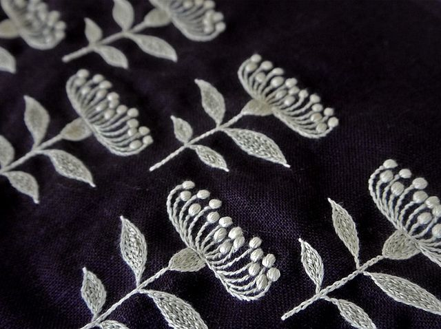 yumiko's embroidery by milk tooth's rain, via Flickr