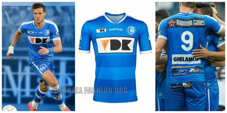 KAA Gent 2015 2016 Jartazi Home, Away and Third Football KIt