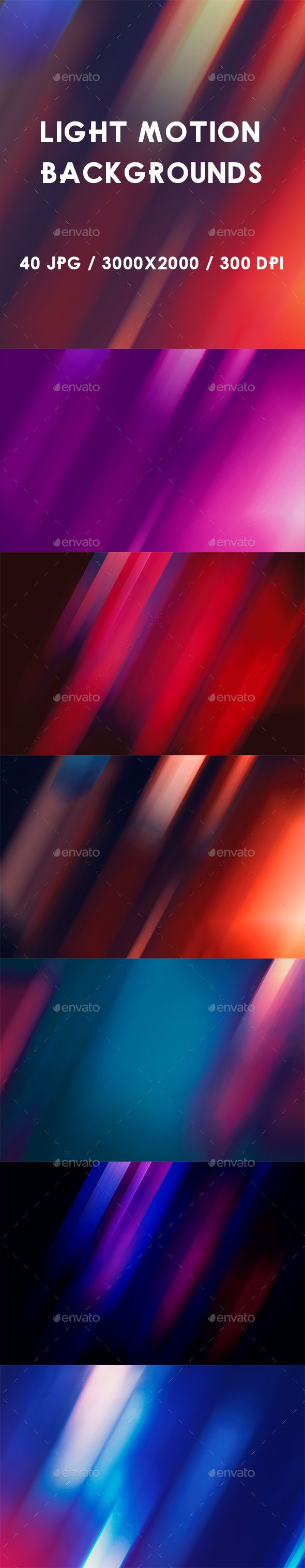 40 Light Motion Backgrounds - Abstract #Backgrounds Download here: https://graphicriver.net/item/40-light-motion-backgrounds/19455954?ref=alena994