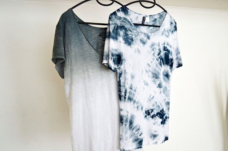 Fashion-Mind: DIY TIE DYE, DIP DYE, OMBRE SHIRT