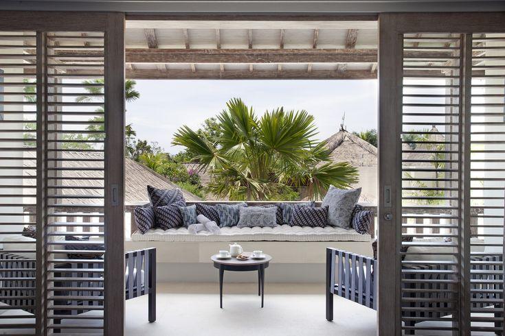 Looking out through the Balcony Villa Adasa Bali  http://www.prestigebalivillas.com/bali_villas/villa_adasa/45/reservation_and_rate/
