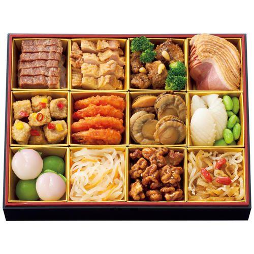 <赤坂璃宮>中華おせち料理 1段