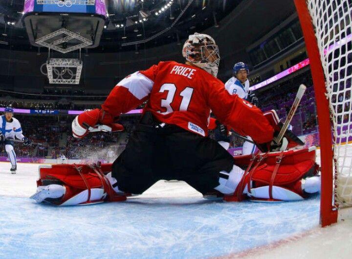 Carey Price,  Team Canada, Sochi 2014 game vs Finland