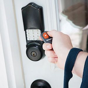 Door keys are so last year. Smart home technology is growing, and so are options for keyless entry systems. With these ideas you'll never have to tuck another key in a fake rock or under a flower pot.
