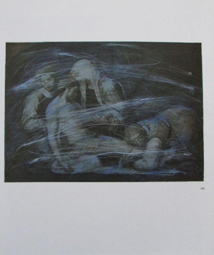 Arnulf Rainer DIE BEWEINUNG CHRISTI Übermalung Kunstdruck Bibel art print | eBay