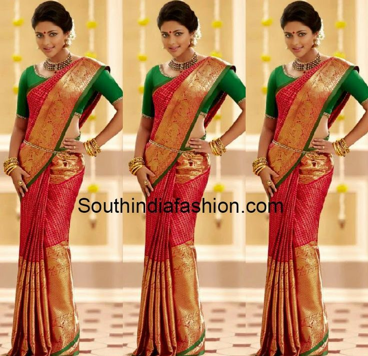 amala paul in pattu saree