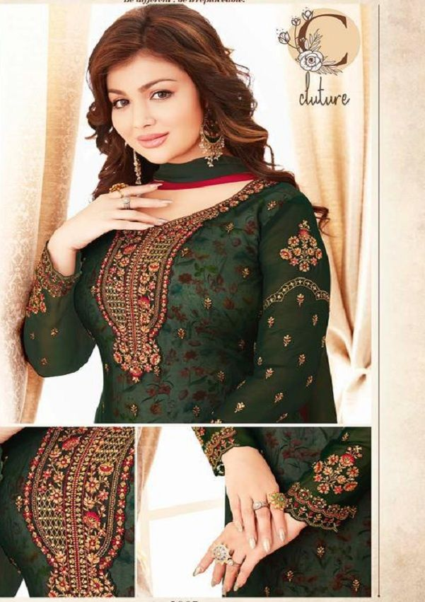 ad70fdf34d Buy lavina Nx3 Georgette Embroidery Salwar Suits 3005 | Suited in ...