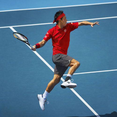 Kei Nishikori Australian Open 2017 outfit (Uniqlo)