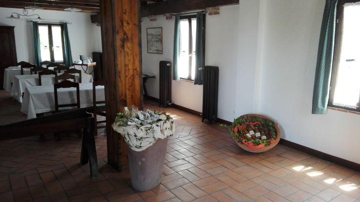 B&B La Foresteria: Sala relax ed esposizione prodotti