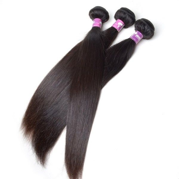 Get your dream hair by adding this beautiful 3 pcs set Straight Brazilian Hair Extension