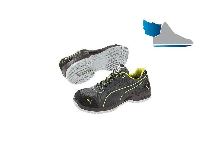 Kvalitná pracovná obuv značky PUMA.