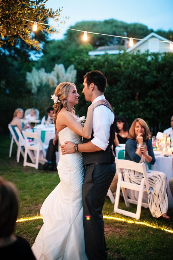 Folly Beach Wedding Via Riverland Studios Charleston