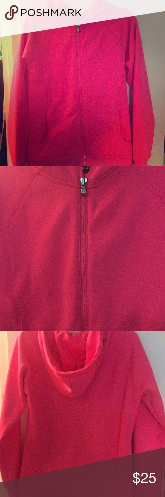 Under Amour Pink Hoody Cute Under Amour Hoody Under Armour Tops Sweatshirts & Hoodies