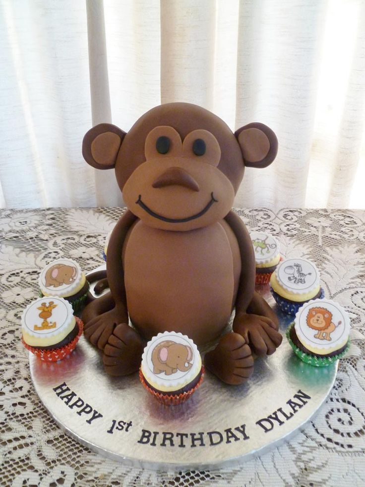 17 Best Images About Cakes Lions Tigers And Monkeys Oh