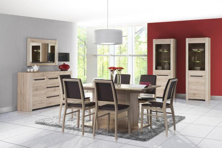 Desjo to inspirujące rozwiązania o nowoczesnym kształcie i wzornictwie. To propozycja dla osób poszukujących prostych, ale nietuzinkowych rozwiązań #meble #szynakameble #furniture #wood #drewno #inspiracja #zainspirujsie #inspiration #jadalnia #diningroom