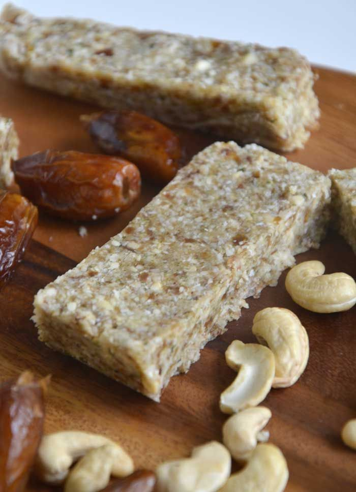 5 Ingredient Paleo Power Bars