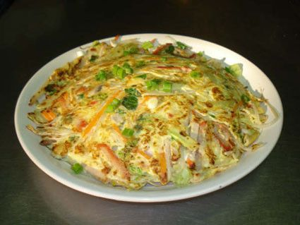 Main, CM42, Vegetable and Egg, Plain Egg Foo Young, Chinese