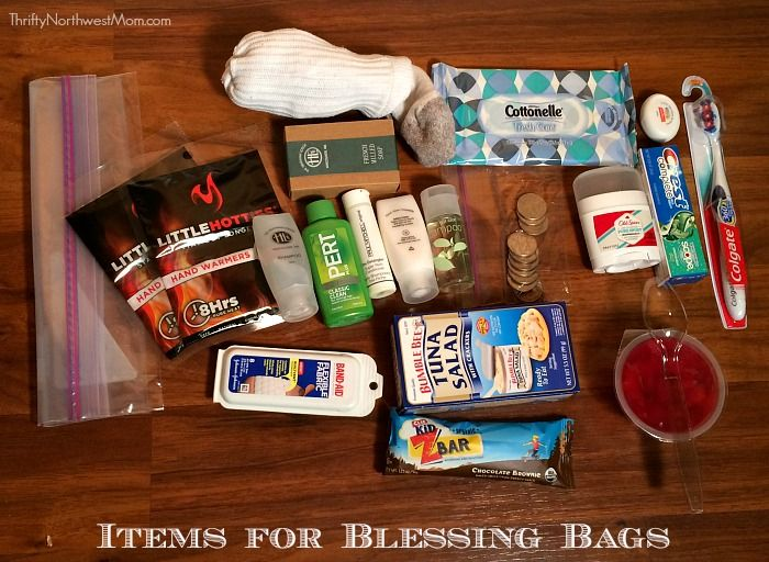 Blessing Bags - Keep on Hand for those in Need or Donate to Homeless Shelter - Thrifty NW Mom