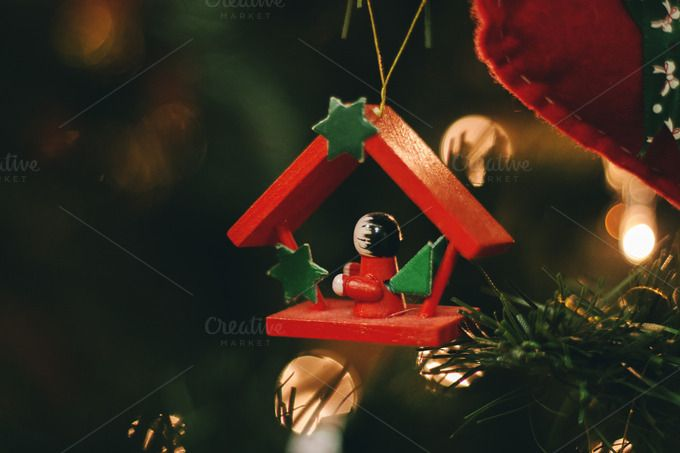 Check out Christmas decorations 4 by Pixelglow Images on Creative Market