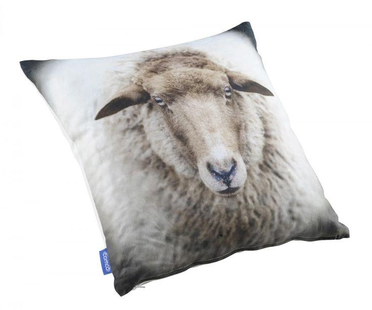 Piristä yksivärisen sohvan ilmettä painokuvioisella koristetyynyllä. Sympaattinen lammasprinttikuvio, jonka värimaailma toimii yhdistettynä esim. BRIDGE-koristetyynyyn tai...