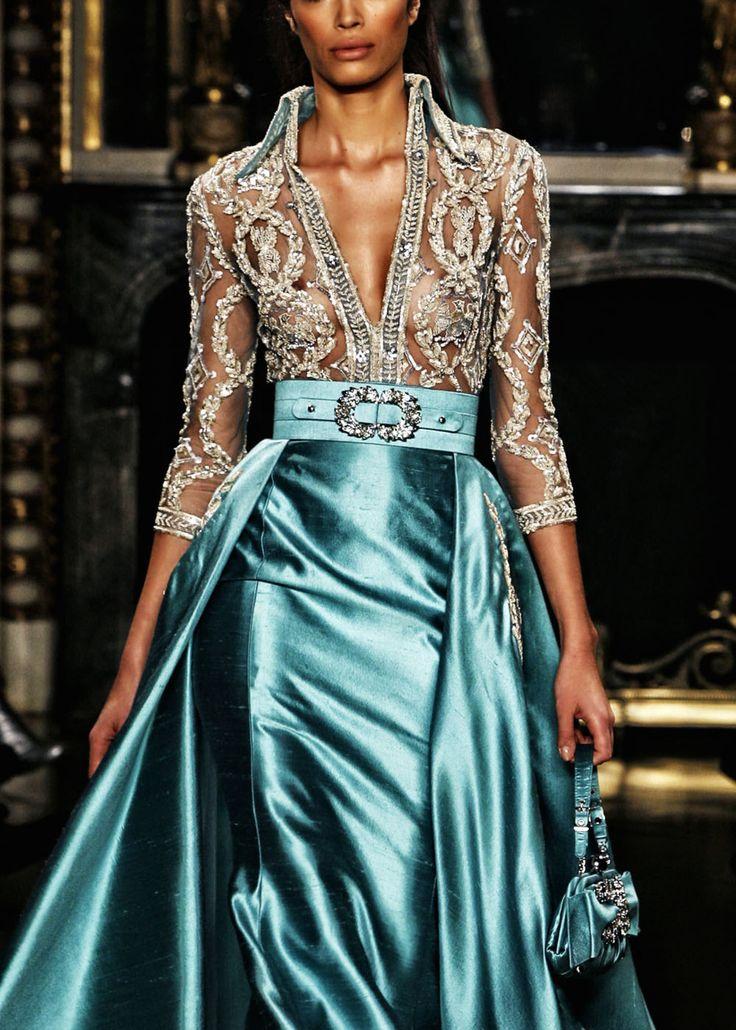 Zuhair Murad gown.