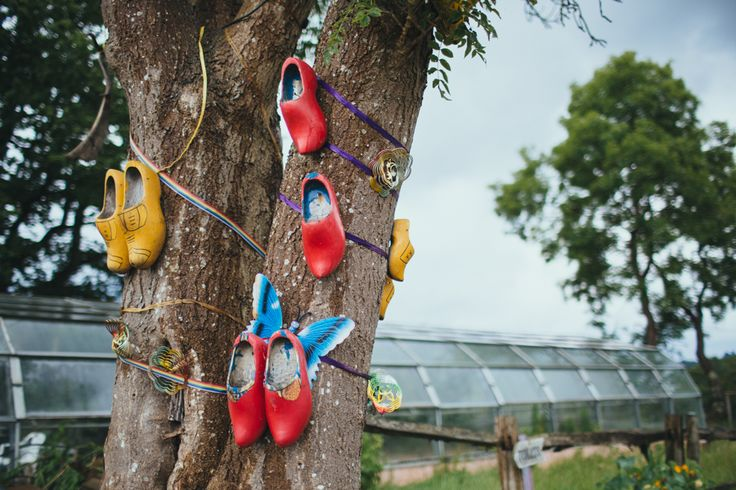 The mystical wishing tree at Yoghurt Rooms, East Grinstead. Love it. http://www.yoghurtrooms.com  Photo by Liz Wan Photography