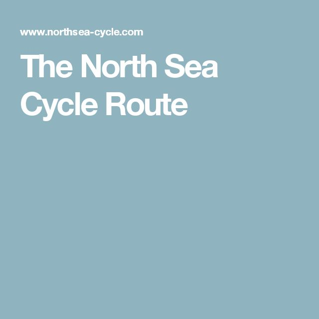 The North Sea Cycle Route