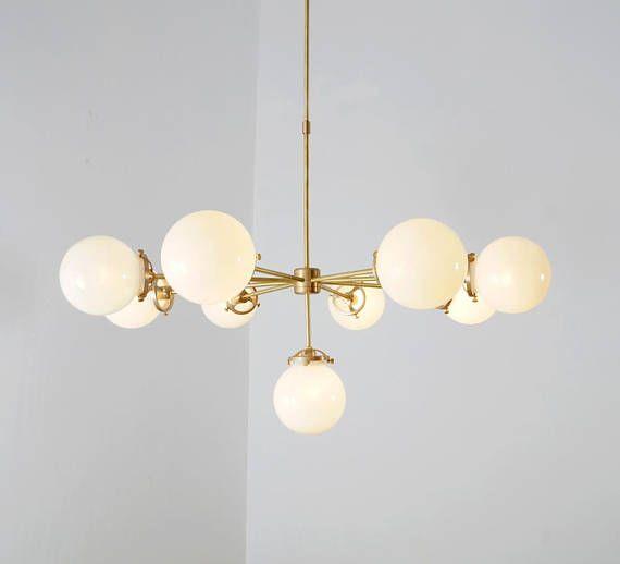 Gorgeous Mid Century Chandelier Helio Ceiling Light Ceiling