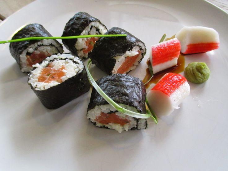 Tinskun keittiössä: Lähes hiilariton Sushi