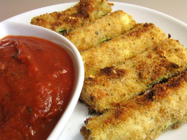 BAKED ZUCCHINI STICKS | Homemade Food Recipes