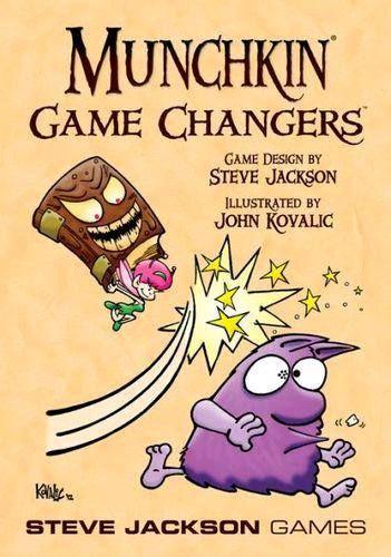 Munchkin Game Changers της Steve Jackson Games, ένα expansion για το Munchkin!  Αποστολή σε όλη την Ελλάδα!  #boardgames #newarrivals #efantasygr  http://www.efantasy.gr/el/product/80121/munchkin-game-changers