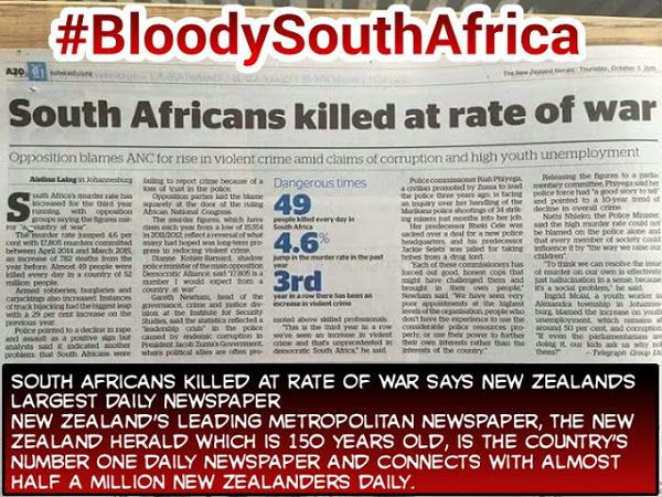 Bloody South Africa – Video