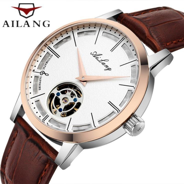 >> Click to Buy << Mens Automatic Mechanical Watch Famous luxury brand AILANG Men Casual Wrist watch Leather Tourbillon Watch Relogio Masculino #Affiliate