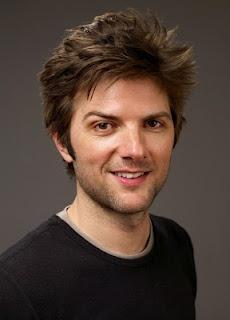 Adam Scott: the nerd with Wolverine hair.