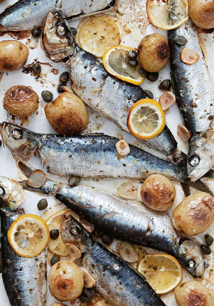 Baked sardines by Rebecca Seal from The Islands of Greece | Cooked