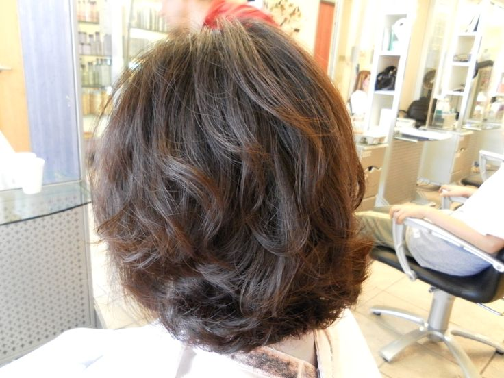 body wave perm before and after pictures - Google Search | hairstyles ...