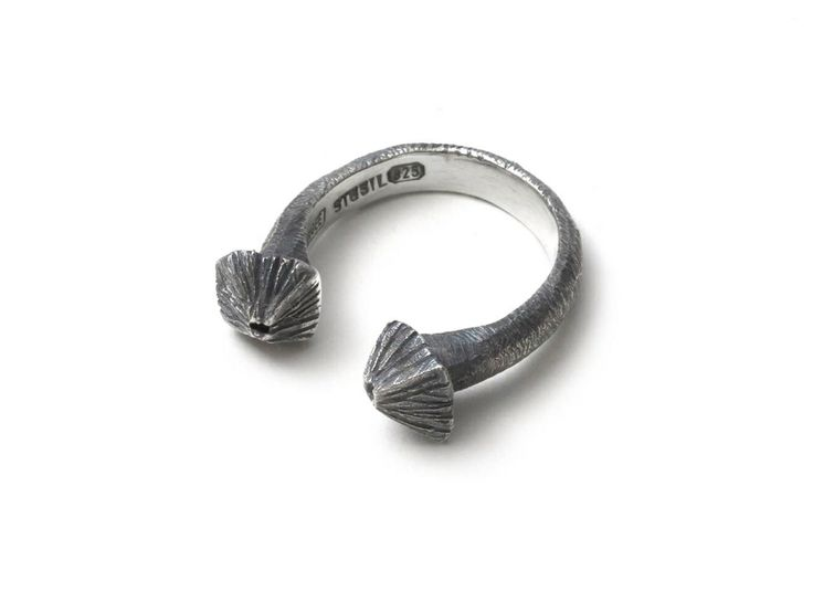 Barnacle cuff ring by Emgee