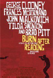 Burn After Reading - Wer verbrennt sich hier die Finger? Poster