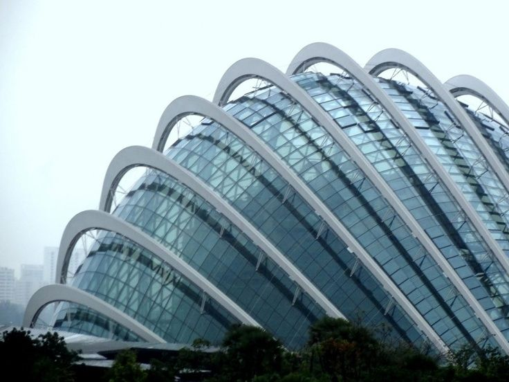 Cloud Forest and Flower Dome, Singapore #architecture - ☮k☮