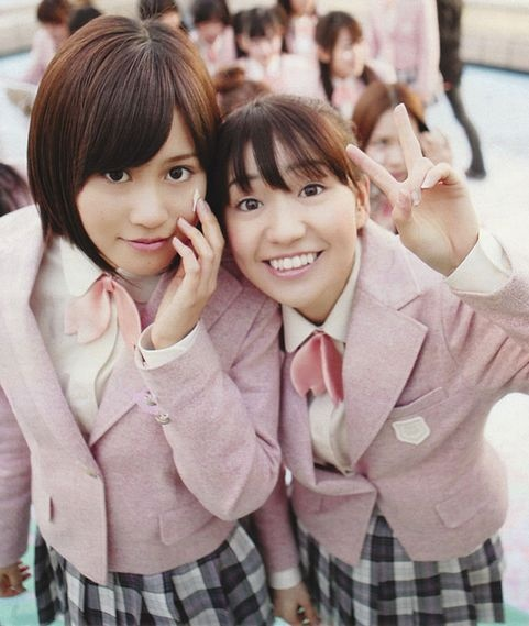 Acchan and Yuko #AKB48