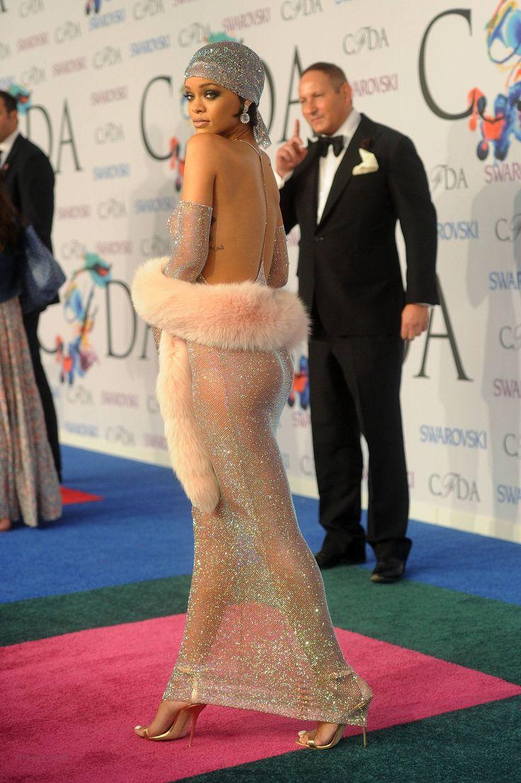 Rihanna in Adam Selman – 2014 CFDA Fashion Awards