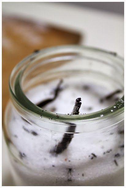 Domowy cukier waniliowy