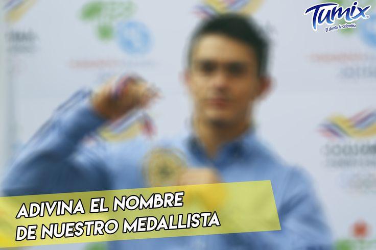 Es uno de los posibles abanderados para Colombia en los JJ.OO ¿Sabes quién es? Usa el HT #SerFrescoEsSerColombiano