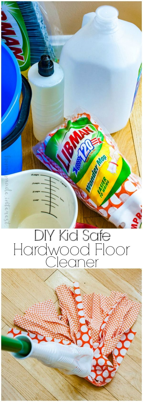 Homemade Wood Floor Cleaner for Spring Cleaning!