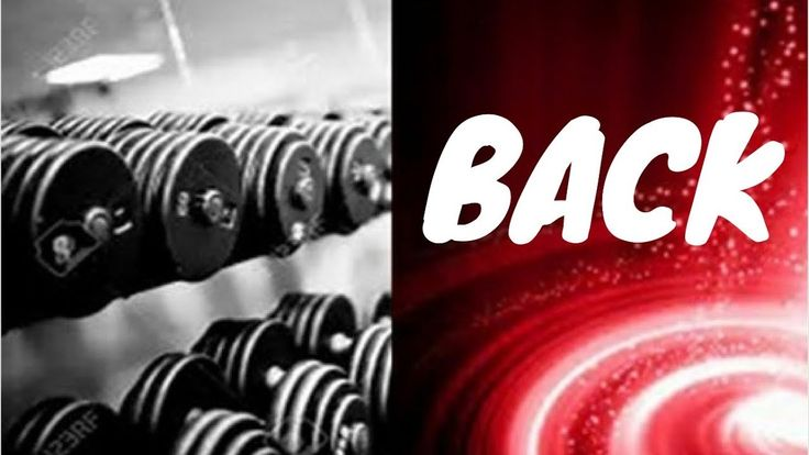 workout back training at home gym disturbed