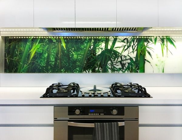 33 Awesome printed glass splashbacks images