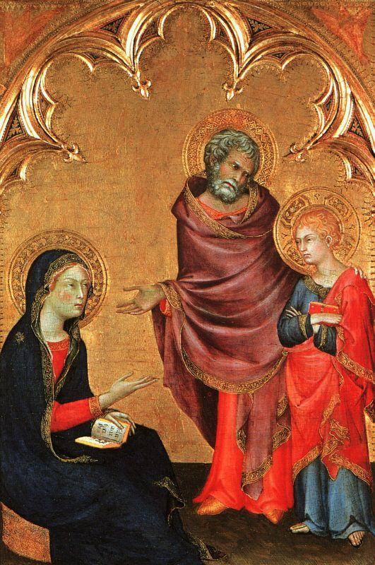 Child discovered in the temple, Simone Martini/ Andrea Villaseñor